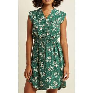 🆕Modcloth Sunny Girl A Way With Woods Shirt Dress